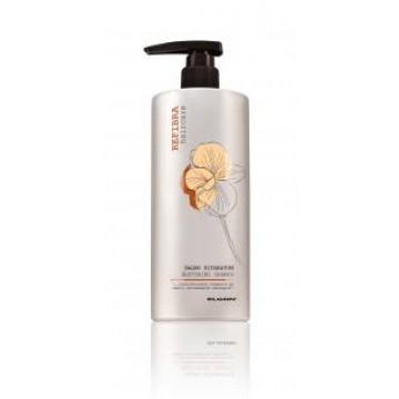 Włosy bardzo zniszczone REFIBRA RESTORING SHAMPOO  z keratyną 750 ml